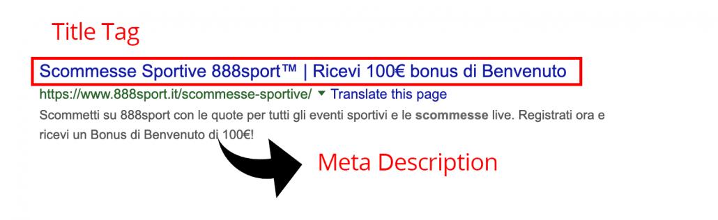 Seo Title Tag Web Marketing