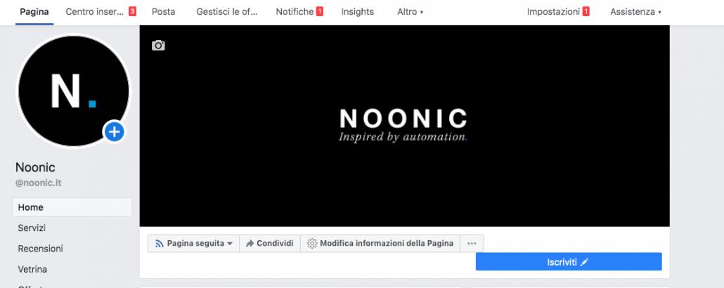 immagine copertina e profilo