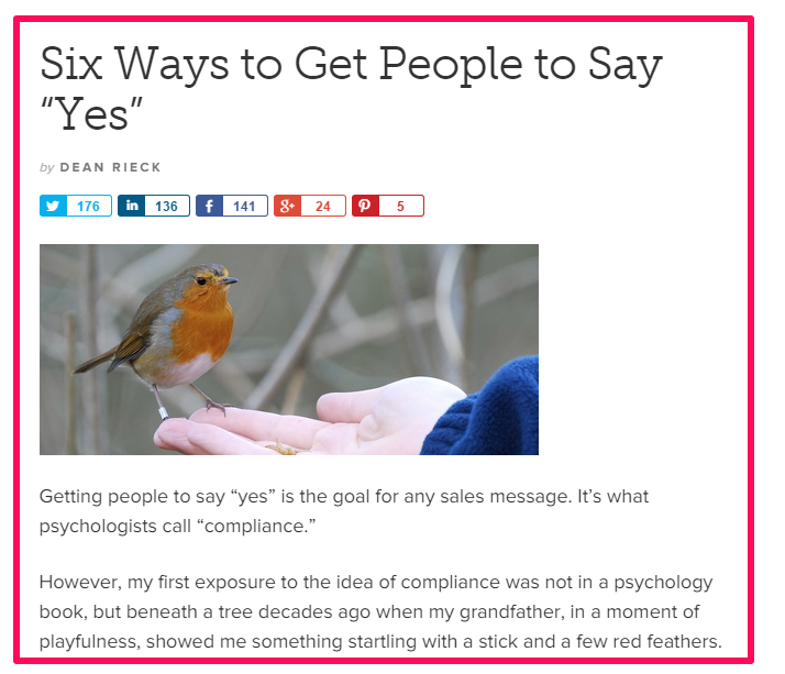 6 modi per dire di si