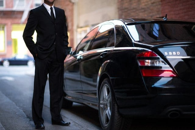 Uber Luxury driver