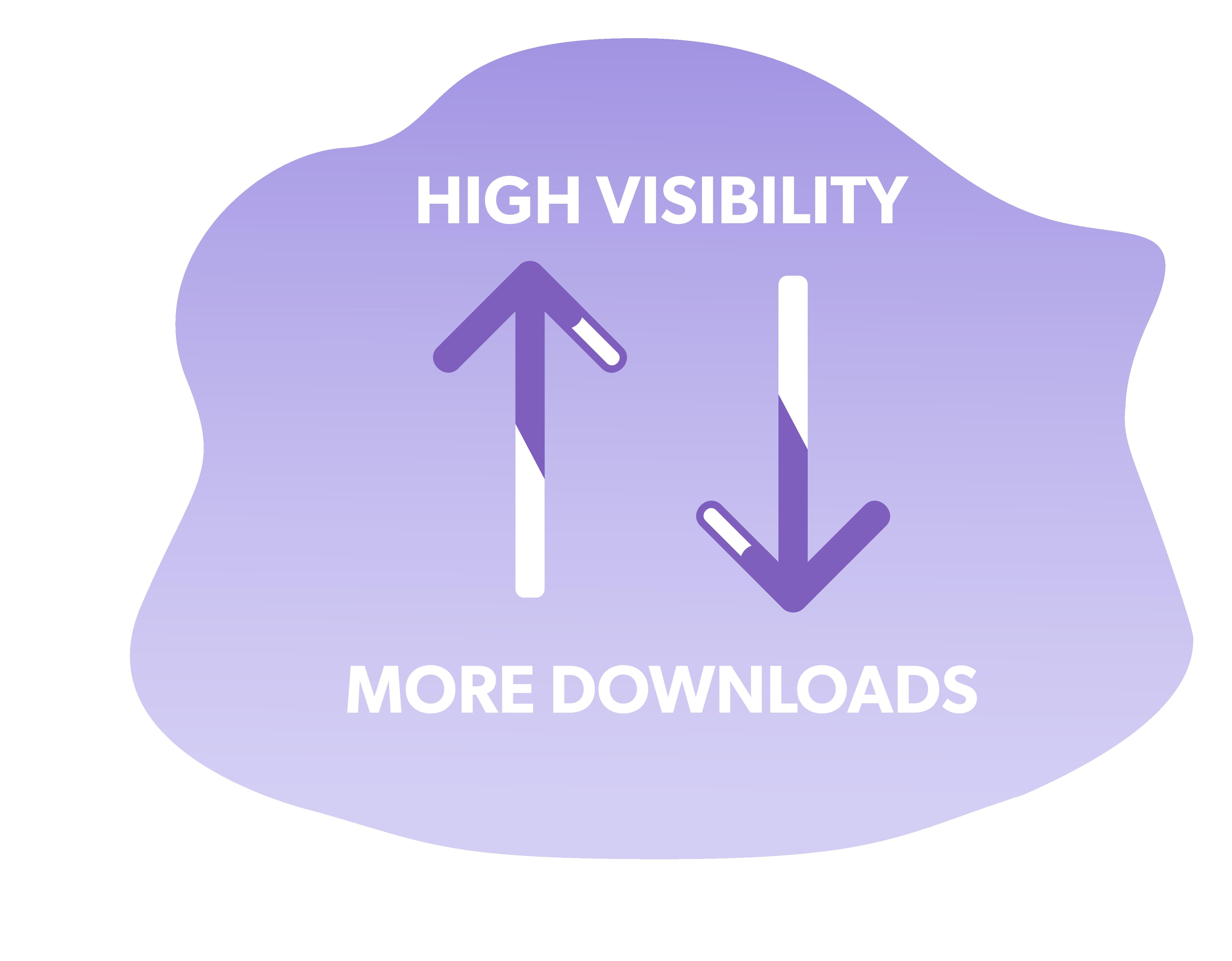 Alto posizionamento = maggior numero di downloads